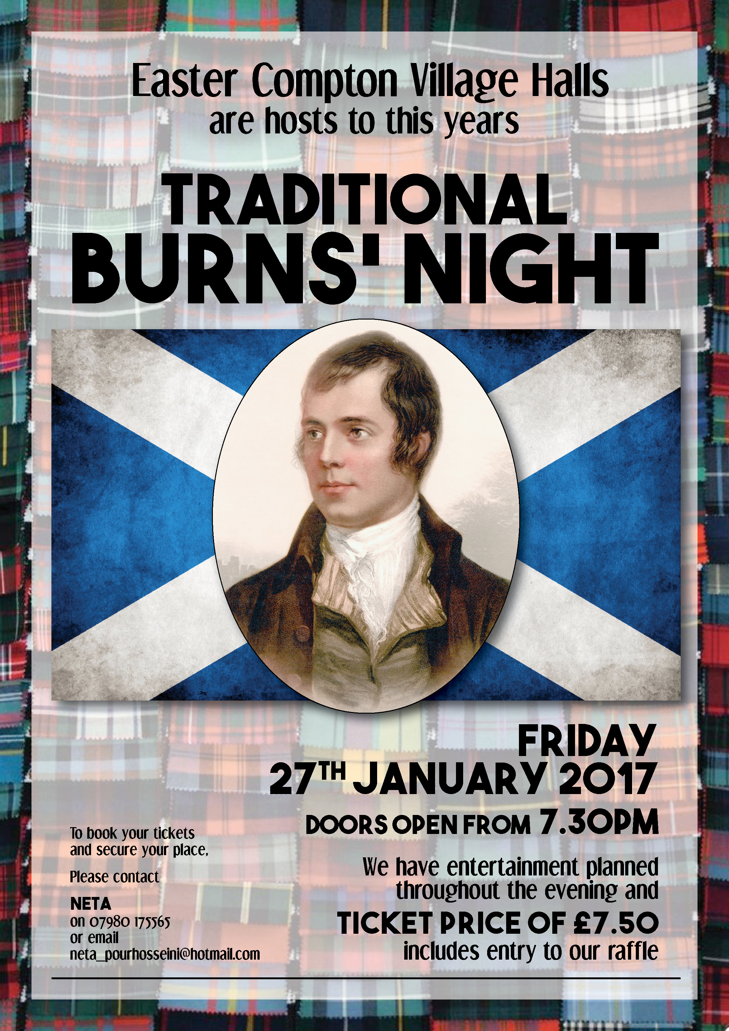 Burns Night A3